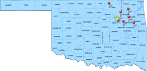 Sapulpa Bail Bond Map
