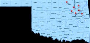 Signature Tulsa Bail Map