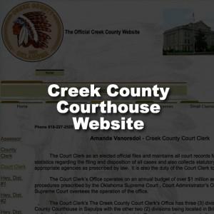 Creek County Court Clerk