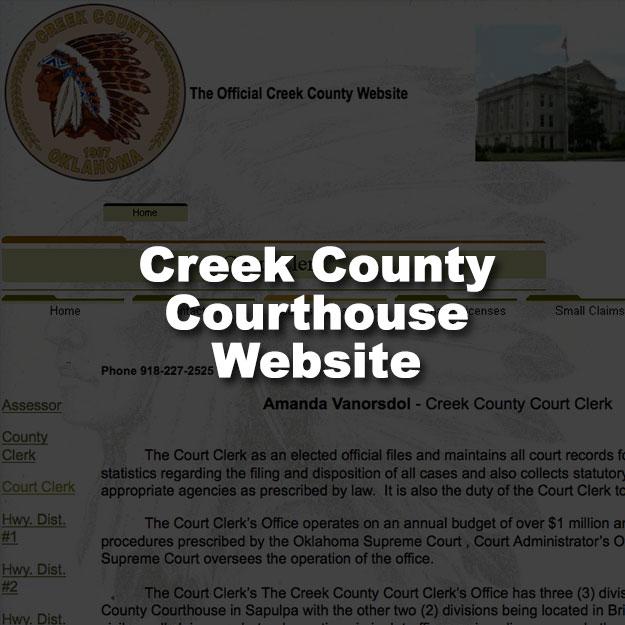 Creek County Court Clerk