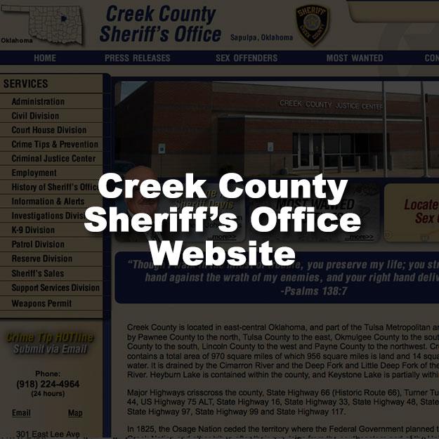 Creek County Sheriffs Office